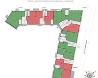 Планировка коммерческого помещения, этаж 1
