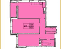 3  комнатная квартира 67,89 кв. м