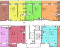 Подъезд 1, этажи 16-18