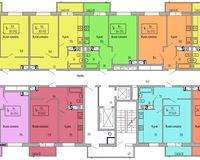 Подъезд 1, этажи 2-7