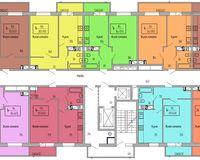 Подъезд 1, этажи 8-15