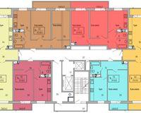 Подъезд 2, этажи 16-18