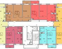 Подъезд 2, этажи 2-7