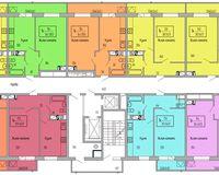 Подъезд 3, этажи 16-18