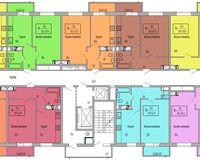 Подъезд 3, этажи 2-7