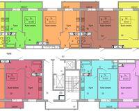 Подъезд 3, этажи 8-15