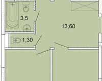 3-комнатная квартира 88.9 кв. м