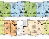 Литер 1, этажи 2-6