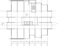 План технического этажа