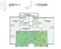 Секция 1, этажи 11-12
