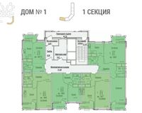 Секция 1, этажи 3-10
