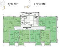 Секция 2, этажи 3-10