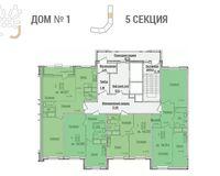 Секция 5, типовой этаж