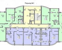 Подъезд 1, этажи 2-5
