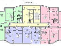 Подъезд 1, этажи 6-16