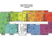 Подъезд 1, этажи 14-18