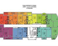 Подъезд 2, этажи 14-18