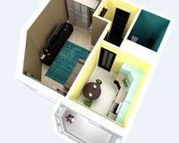 1-комнатная квартира 31,8 кв. м