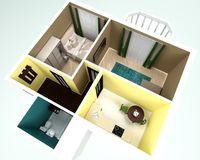 2-комнатная квартира 45,3 кв. м