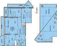 Пентхаус 189,18 кв. м, тип 2