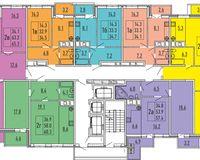 Секция 2, этажи 11, 15, 17, 19