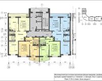 Секция 4, этажи 3-19