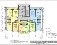 Секция 2, этажи 3-19