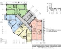 Секция 3, этажи 3-15
