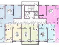 Секция 4, этажи 3-23