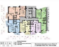Блок-секция 2, этажи 2-9