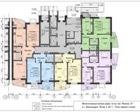 Блок-секция 1, этаж 1