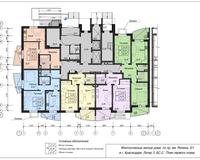 Блок-секция 2, этаж 1