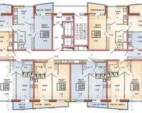 Литер 1, этаж 2-4
