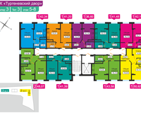 Литер 3, тип 3, этажи 5-8