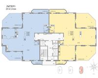 Литер 1, этаж 24