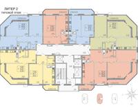 Литер 2, этаж типовой