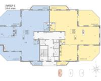 Литер 3, этаж 24