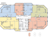 Литер 3, этаж типовой