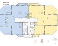 Литер 2, этаж 24