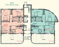 Тип А, этаж 1