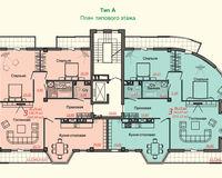Тип А, этаж типовой