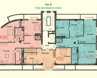 Тип B, этаж мансардный