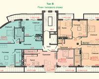 Тип B, этаж типовой
