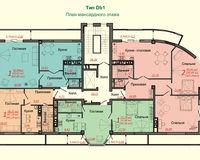 Тип D, этаж мансардный