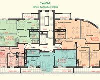 Тип D, этаж типовой
