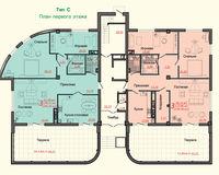 Тип С, этаж 1