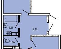 2-комнатная квартира 65,10 кв. м