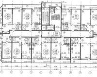 Схема типового этажа