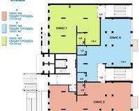 Литер 1, секции 2, 4, этаж 1