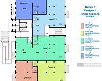 Литер 1, секция 1, этаж 1